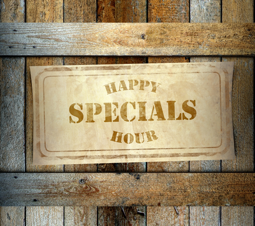 Happy Hour Specials Photo